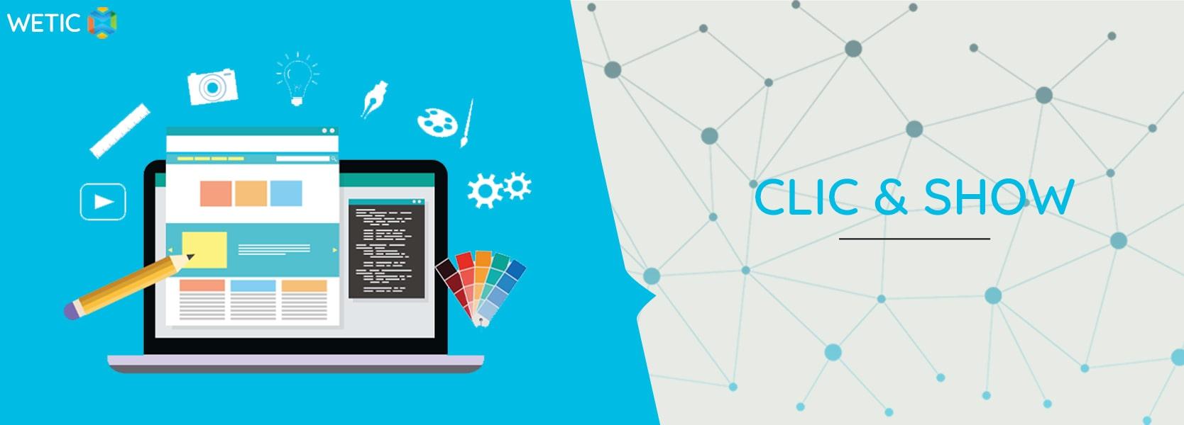 Créer un site Internet : Clic & Show